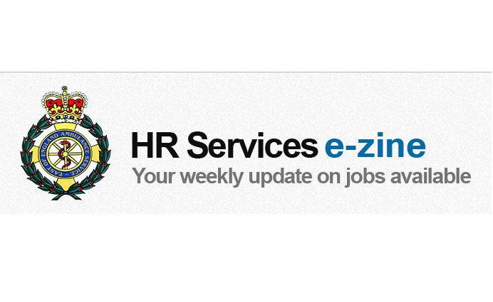 Updates from Recruitment incl new vacancies