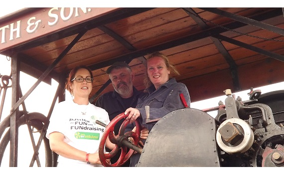 Alice's fun day boosts Helimed  coffers