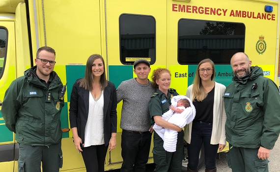 EEAST crew helps baby Charlie take his first breath!