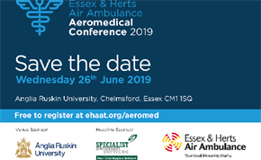 Essex & Herts 10th Anniversary Aeromedical Conference