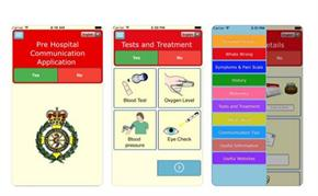 Pre Hospital Communications App Screenshots