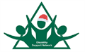 EEAST Disability Support Network logo with Christmas hat